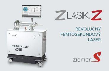 Femtosekundový laser ZIEMER FEMTO LDV Z6