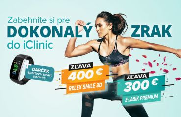 Letná akcia na Relex Smile 3D a Z-Lasik Premium