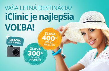 Letná akcia na Relex Smile 3D a Z‑Lasik Premium
