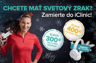 Zimná akcia na RELEX SMILE 3D a Z-LASIK PREMIUM