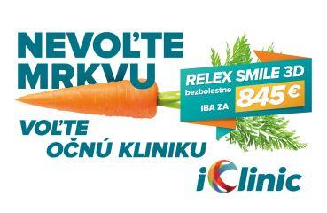 Nevoľte mrkvu, voľte iClinic