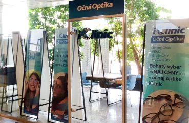 Otvárame ďalšiu očnú optiku iClinic